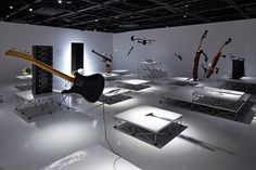 takt project installation for yamaha design exhibition tokyo