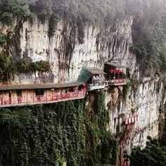 Fangweng in Yichang, China.