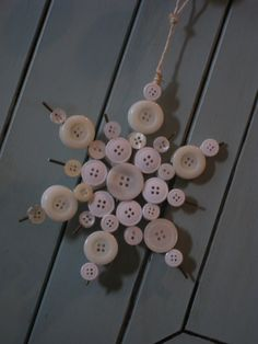 Ashley's Snowflake Ornament - Shanty 2 Chic