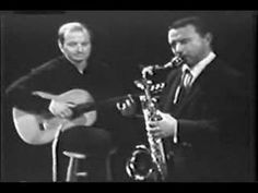 Bossa Nova Composer Luiz Bonfa On Guitar -Desafinado- with