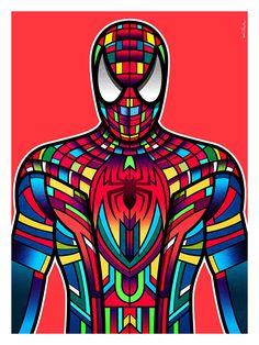 """Superhero: Spider-Man"" by Van Orton Design"