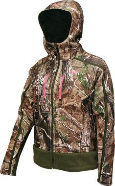 Under Armour® Women's Ridge Reaper Hunting Jacket. Love the Under Armor hunting gear. It's warm, has scent lock protection, and actually looks like its made for a woman! Sure Beats wearing my husbands oversized clothes like I have in past years. Never again! Lol Now just gotta wait til the 1st of September :)