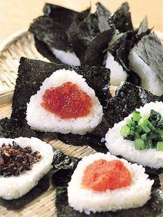Rice balls, onigiri