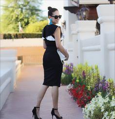 Sassy Ruffle Top Dress