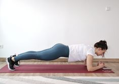 Try this routine of 7 corrective exercises that can help you improve your anterior pelvic tilt and reduce your lower back pain and stiffness. List Of Bodyweight Exercises, Tabata Workouts, Easy Workouts, Posture Correction Exercises, Posture Exercises, Floor Exercises, Hip Stretches, Fix Your Posture, Isometric Exercises