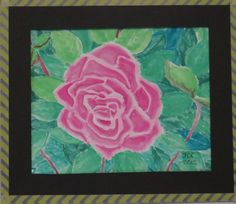 Pink Rose - water colors.