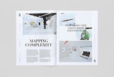 Picture of intern designed by Socio Design and Mash Creative for the project Trace Magazine. Published on the Visual Journal in date 14 October 2015