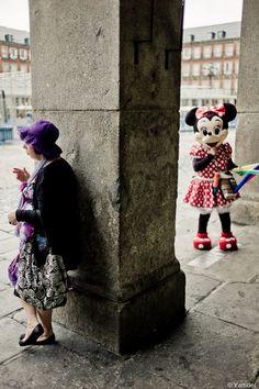 .© 2010 Yanidel Street Photography   Madrid, Plaza Mayor
