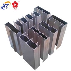 Office Glass Partition Aluminum Extrusions Profiles
