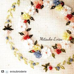 @evisubroderie #broderie #bordado #embroidery #ricamo #handembroidery #needlework