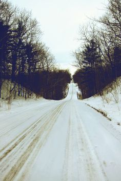 Snow, the smell of burning wood, I call this place my home <3