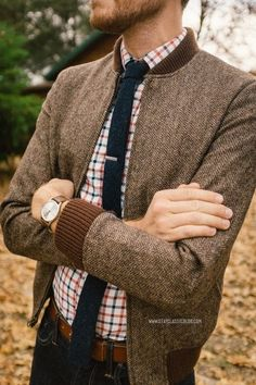 Pretty tweed jacket.