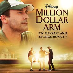 From the studio that brought you Remember the Titans and Miracle, bring home a true inspirational story about America's favorite pastime, Million Dollar Arm. On Blu-ray and Digital HD 10/7.