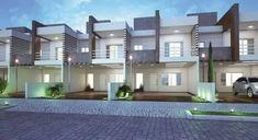 casas geminadas - Buscar con Google #casasmodernasfachadasde
