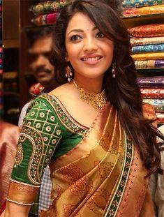 Silk saree blouse designs | #Fashion #Apparels