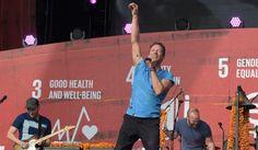Coldplay estrenó un nuevo tema en un concierto en Nueva York