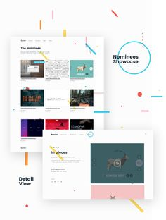 CSS Design Awards / Woty on Behance