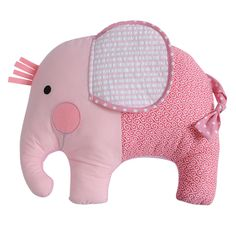 Pink Elephant Softie - Cuddle Pillow