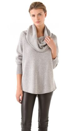Tim - LOVE this style sweater, maybe a greyish color, but not $338.00 please!    Joie Wesley Marbled Sweater