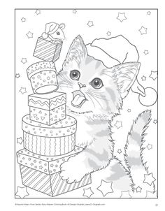 Santas Furry Helpers Coloring Book Colouring Books: Amazon.de: Kayomi Harai: Fremdsprachige Bücher
