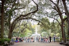 Jackie + Max's Forsyth Park Ceremony in Savannah, Georgia & Oldfield Club wedding Reception in Bluffton, SC from First City Events and Once Like a Spark Wedding Blog, Wedding Reception, Wedding Things, Savannah Georgia, Savannah Chat, Forsyth Park, City Events, Low Country, Dolores Park