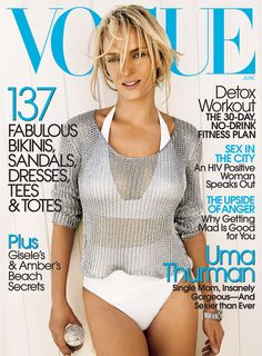 Vogue US June 2006, Uma Thurman