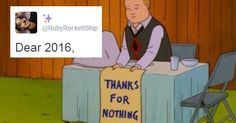 15 Best Letters to 2016 Now that It's FINALLY ENDING