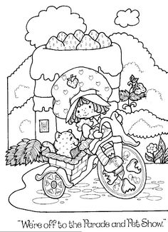 Strawberry+Shortcake+Coloring+Book+Pages   Return to Strawberry Shortcake Coloring Books @Holly McMillen-Addict.com