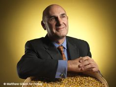 Head of Monsanto, Hugh Grant; leader of evil agribusiness practices