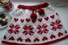 Tina's handicraft : knitting skirt