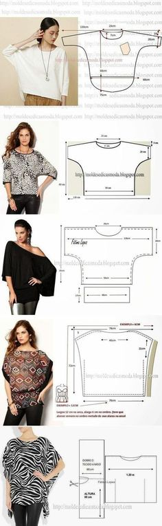 Amazing Sewing Patterns Clone Your Clothes Ideas. Enchanting Sewing Patterns Clone Your Clothes Ideas. Fashion Sewing, Diy Fashion, Ideias Fashion, Dress Fashion, Dress Sewing Patterns, Clothing Patterns, Blouse Patterns, Blouse Sewing Pattern, Crochet Patterns