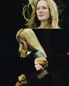 Eowyn. Even flowers must weep to make life. Even those who are fair have lost.