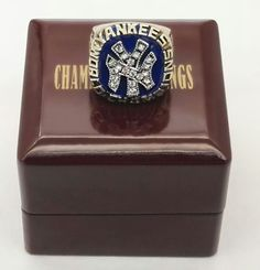 1977 Yankees Major League Baseball fashion Custom Sports Fans Championship Ring With Wooden