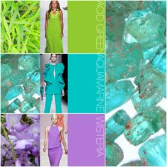 Trend Council Must-Have Spring/Summer 2014 Colors - The color in the middle is really pretty!