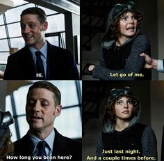 Just last night... #Gotham Gothamtv2014