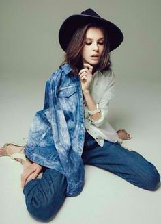 A little 'denim on denim' action from our Denim Diaries feature!