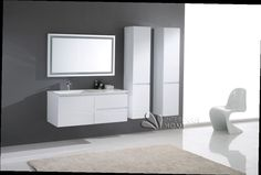 meuble salle de bain blanc laqu blanc laque meuble salle volumessalledebain - Meuble De Salle De Bain Blanc Laqu
