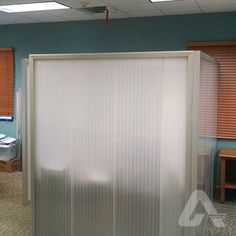 Lexan* Thermoclick* sheets are impact resistant, energy-saving multiwall sheets with a tongue and groove connection. Tongue And Groove, Commercial Interiors, Save Energy, Divider, Curtains, Room, Furniture, Home Decor, Bedroom