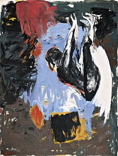 Neo-Expressionism Style of Painting Practiced by Georg Baselitz, Anselm Kiefer, Gerhard Richter, Julian Schnabel and Enzo Cucchi Great Paintings, Beautiful Paintings, Figure Painting, Painting & Drawing, Figurative Kunst, Sand Art, Art Moderne, Art Abstrait, Art Plastique
