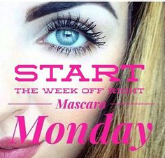Mascara Monday GO HERE ☟ www.goodlingpurebliss.com