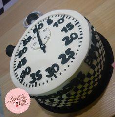 #cronometro #tarta # cake #chronograph www.sweetandthecity.com