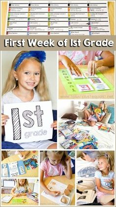 First Week of 1st Grade Homeschool ~ a peek inside of lesson plans, subjects, and more!