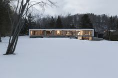 both outside and in, the opposite house is at once familiar yet different…