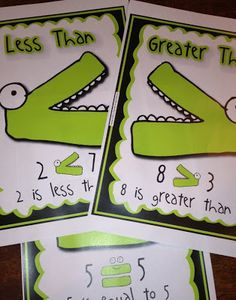 Greater Than / Less Than