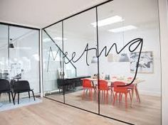 Afbeeldingsresultaat voor glazen wanden kantoor