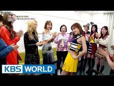 Unnies' Minzy vs TWICE Momo dance battle! [Sister's Slam Dunk Season2 / 2017.03.24] - YouTube