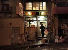 BBQ pork wonton noodle soup @ Sam Wo , Chinatown (RIP)
