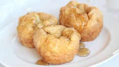 Whey protein popovers