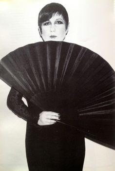 Karl Lagerfeld muse, young Anna Piaggi