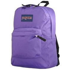 Jansport Backpack Superbreak Pure Purple - Grape Candy | I LOVE ...